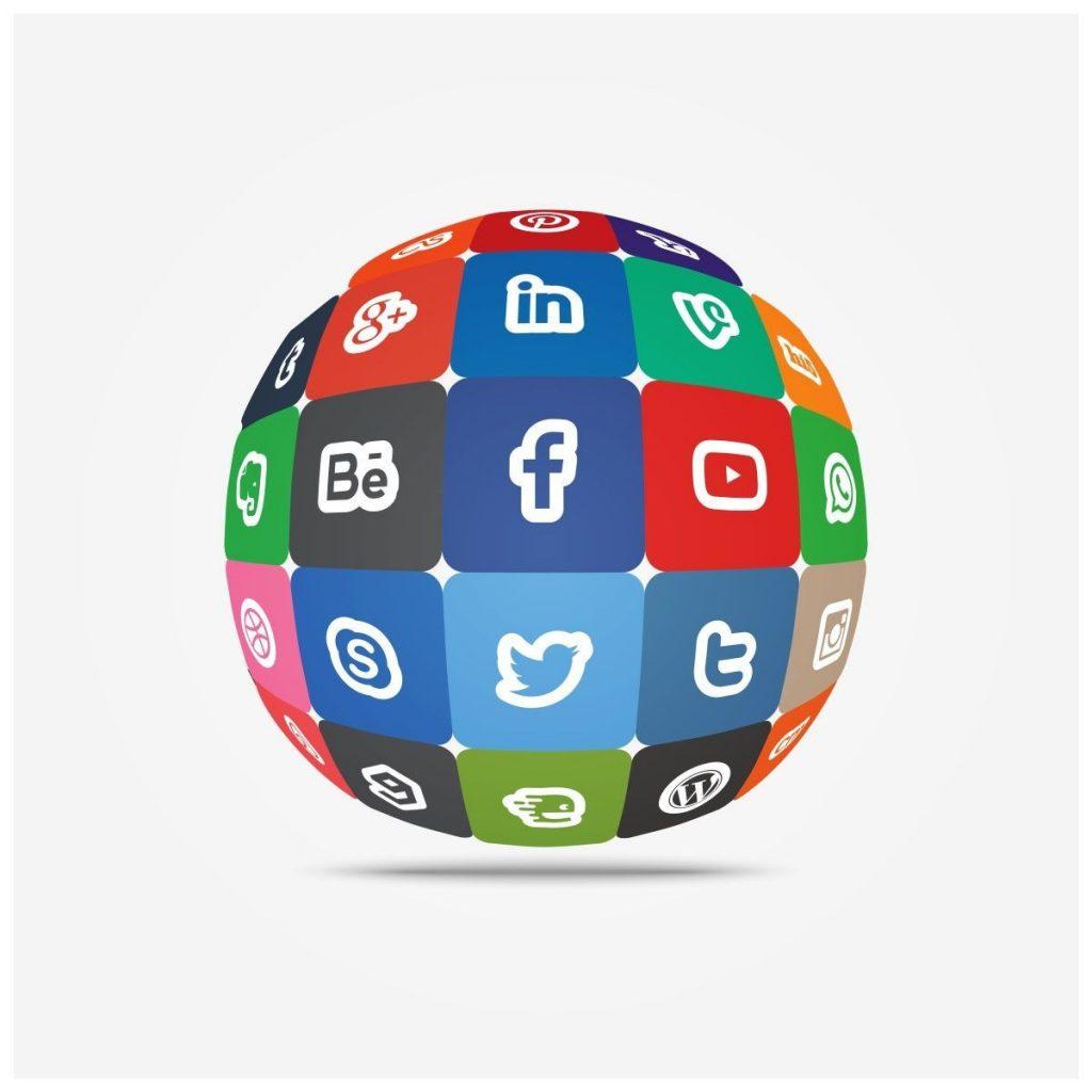 perfiles sociales en WordPress