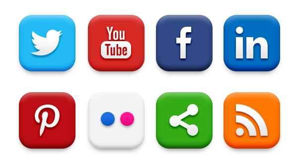 WordPress social profiles