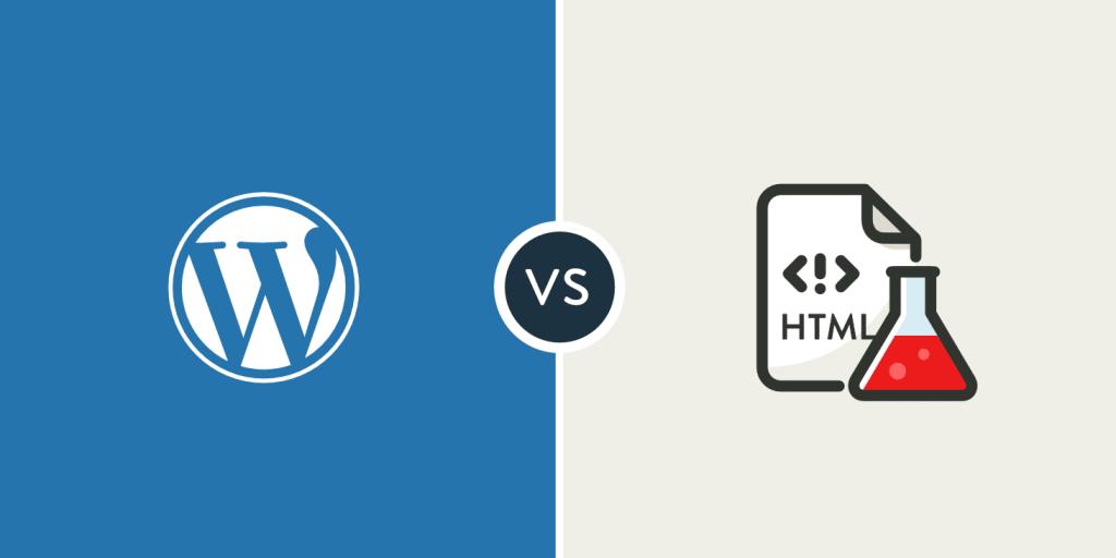 Html vs Wordpress ¿cual es mejor para el desarrollo web? 1