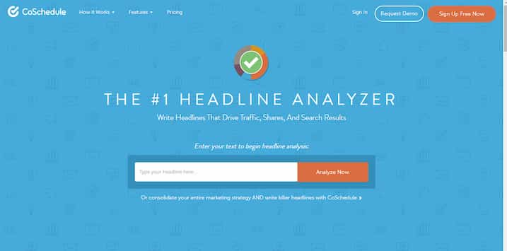 Headline Analyzer, herramienta de Growth Hacking